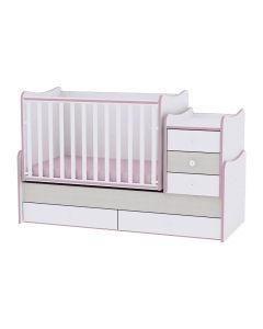 Mobilier MAXI PLUS NEW, White & Pink Crossline