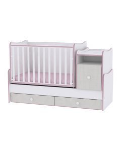 Mobilier TREND PLUS NEW, White & Pink Crossline