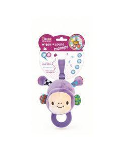 BamBam jucarie de plus cu sunete si vibratii - Maimutica