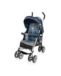 Baby Design Travel Quick 03 Blue 2017 - Cărucior Sport