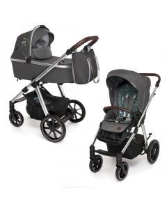 Baby Design Bueno carucior multifunctional 2 in 1 - 117 Graphite Meadow 2020