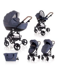 Carucior Set 3 in 1  Crysta, Blue