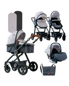Carucior Alexa Set, Light Grey