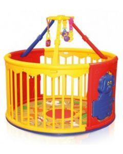 Spatiu de joaca, Play Center, cu accesorii, multicolor