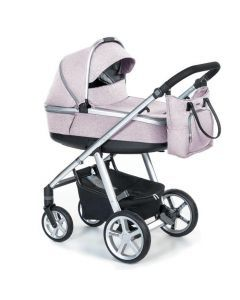 Espiro Next Melange carucior multifunctional 2 in 1 - 08 Pink Walk 2020