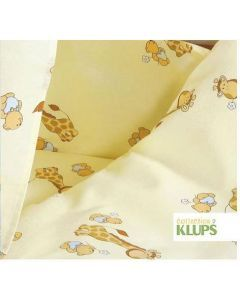 Klups set lenjerie 6 piese - K014 Giraffe - beige