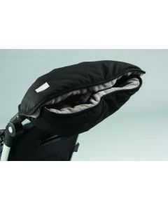 Nuvita Handmuff Black/Grey - Manusi pentru carucior 9307