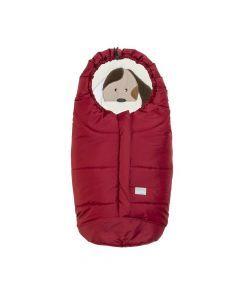 Nuvita Ovetto Cuccioli sac de iarna 80cm - Cat Red / Gray - 9205