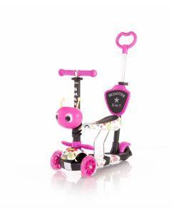 Trotineta pentru copii Smart Plus, Pink