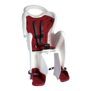 Bellelli Mr Fox Standard B-Fix scaun bicicleta pentru copii pana la 22kg - White