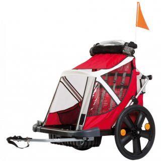 Bellelli B-Travel remorca de bicicleta pana la 32kg - Red