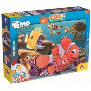 Puzzle de colorat - In cautarea lui Nemo (60 piese)