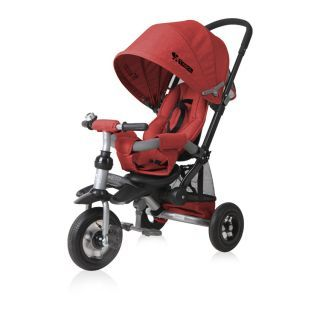 Tricicleta JET AIR Wheels, Red