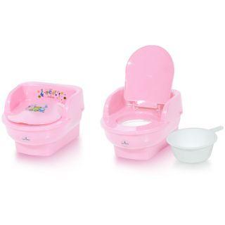 Minitoaleta pentru copii, Pink