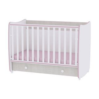 Mobilier DREAM NEW 60x120, White & Pink Crossline