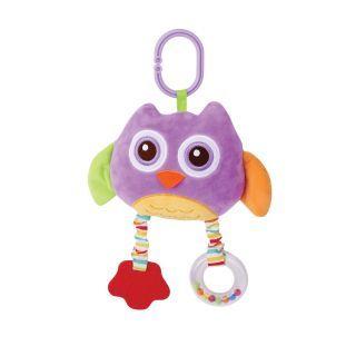 Jucarie din plus cu oglinda , Violet Owl