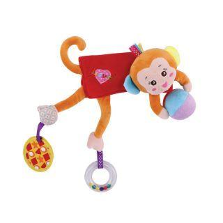 "Jucarie ""Imbratiseaza-ma"" , Beige Monkey"