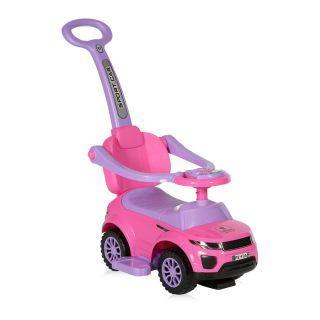 Masinuta OFF ROAD + impingator, Pink
