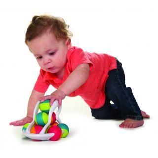 Jucarie distractiva cu bile Rollio - Fat Brain Toys