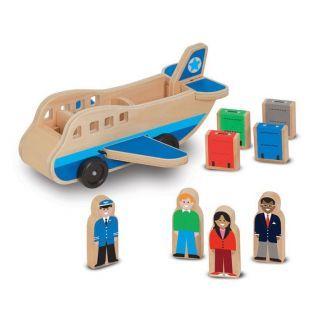 Set de joaca Avion cu pasageri Melissa and Doug