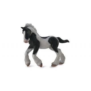 Figurina Manz Gypsy alb si negru M Collecta