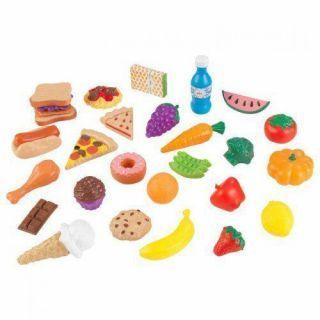 Set alimente de jucarie  30 piese