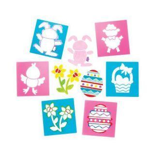 Set 6 sabloane Easter - Baker Ross