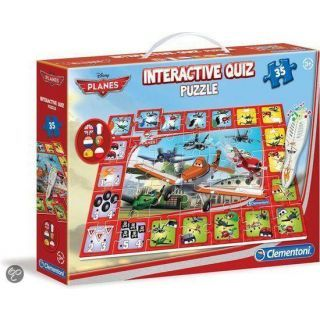 Clementoni Disney puzzle interactiv (35 buc) - Planes