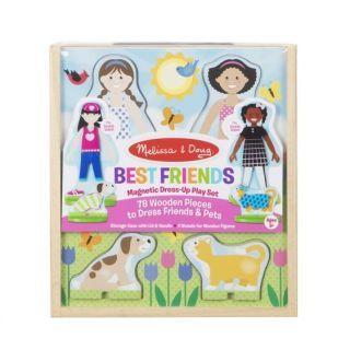 Set de joaca magnetic Prietenele - Melissa & Doug