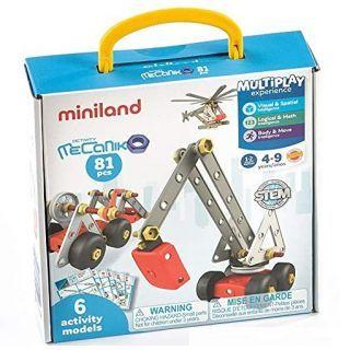 Joc de constructii Activity Mecaniko 81 Miniland