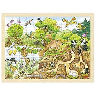 Puzzle Explorand natura