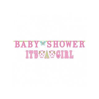 2 Bannere decorative pentru petrecere Baby Shower- 3.20 m/ 1.83 m, Amscan