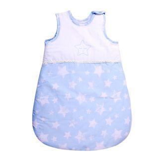 Sac de dormit de iarna (0-6 luni) cu umplutura, Blue