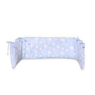 Laterala mare pentru patut LORELLI ranforce, Little Stars Blue