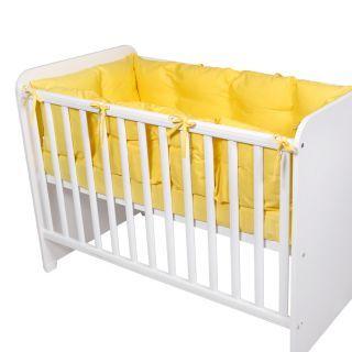 Set laterale pentru patut 60x120 cm, Yellow