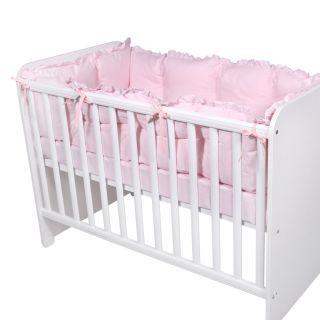 Set laterale pentru patut 60x120 cm, Pink