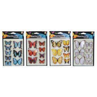 Set abtibilduri 3D - Fluturi