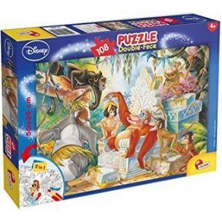 Puzzle de colorat - Cartea junglei (108 piese)