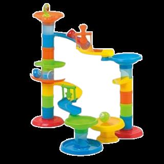 Jucarie interactiva - Turnulet cu bilute (30 piese)