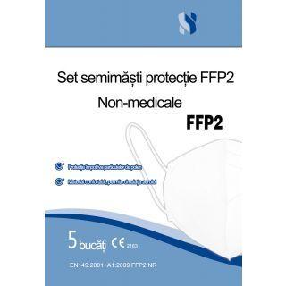 Set 5 semimasti de protectie FFP2