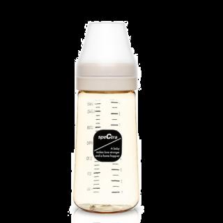 Biberon anticolici premium cu tetina L, galben (260 ml)