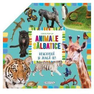 Carte pop-up - animale salbatice
