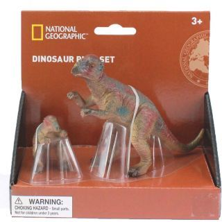 Set 2 figurine - Pachycephalosaurus