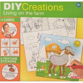 Set creativ - Viata la ferma