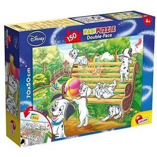 Puzzle de colorat supermaxi - 101 Dalmatieni (150 piese)