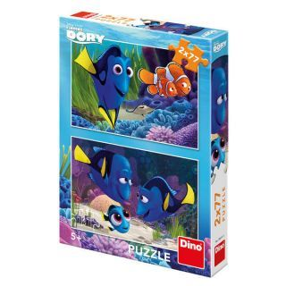 Puzzle 2 in 1 - Gasirea lui Dory (77 piese)
