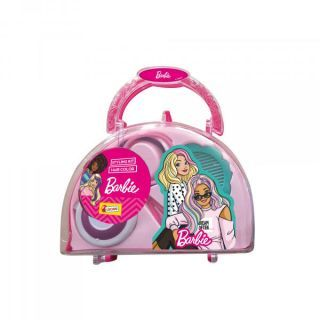 Trusa pentru coafat Barbie