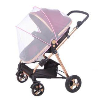 Accesorii carucior – protectie copii, impotriva insectelor, roz