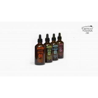 Ulei de masline extravirgin (4x100ml). Castillo de Canena: Arbequina&CO Essential Oils