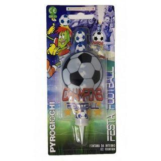 Artificii - Fantana de tort 14 cm Minge de Fotbal , Pyrogiochi PG41058-A